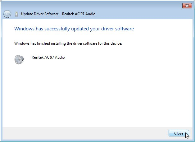 DRIVER UPDATE: REALTEK MULTIMEDIA AUDIO CONTROLLER