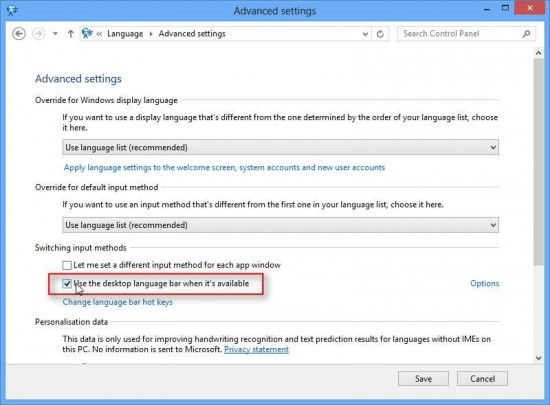 keyboard layout switching button - stop the systray from jumping by activating desktop language bar
